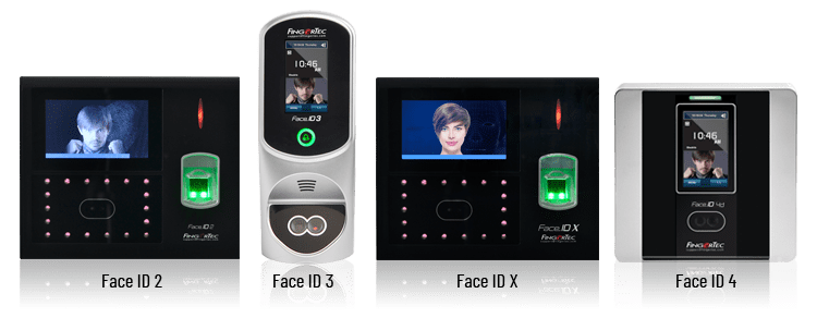 Fingertec Face ID Time Attendance and Door Access System